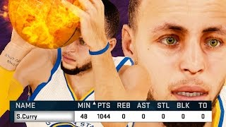 NBA 2k15 Gameplay - How to Score 1000 POINTS! With Any Player - 1000 Point Challenge