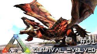 ARK: SURVIVAL EVOLVED - NEW ANNUNAKI GENESIS BEGINS !!! E01 (MODDED ARK EXTINCTION CORE)