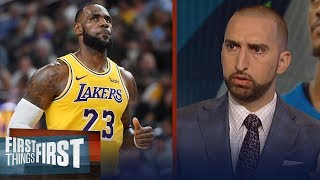 Nick and Cris weigh in on NBA players avoiding teaming up with LeBron | NBA | FIRST THINGS FIRST