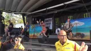 Canine - Senses Fail Live 06/20/15 Vans Warped Tour, Mountain View, CA