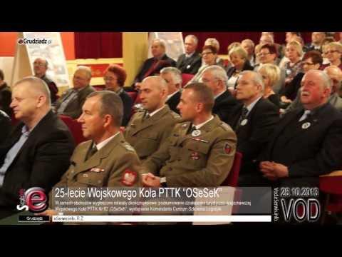 "25-lecie Wojskowego Koła PTTK ""OSeSeK"""