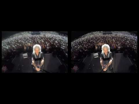Selfie Stick Video |3D| Tallinn, Estonia [June 05, 2016] @DrBrianMay
