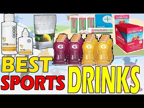 Best Sports Drinks For Hydration