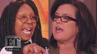Rosie Calls Whoopi 'The Meanest'