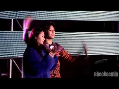 l2l23l Taemin  with Krystal focus - f(x)+SHINee special stage FULL fancam