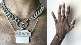 My Jewelry Collection | Choker Necklace, Rings, Bracelets, Pendants (Men's Fashion)
