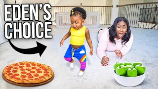 BABY CHOOSES WHAT I EAT FOR 24 HOURS! Part 2