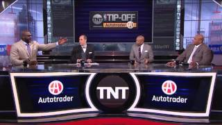 Shaquille O'Neal and Charles Barkley Get Into It Over Lebron James | Inside the NBA | NBA on TNT