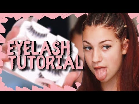 Danielle Bregoli Eyelash Tutorial Breakdown