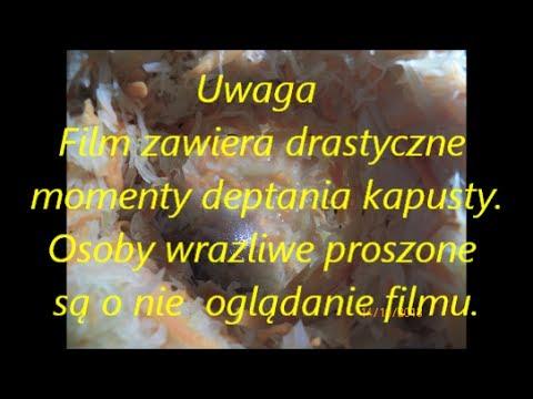 Domowa kapusta kiszona - przepis na przetwory zimowe