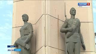 В Омске идут масштабные работы  по благоустройству