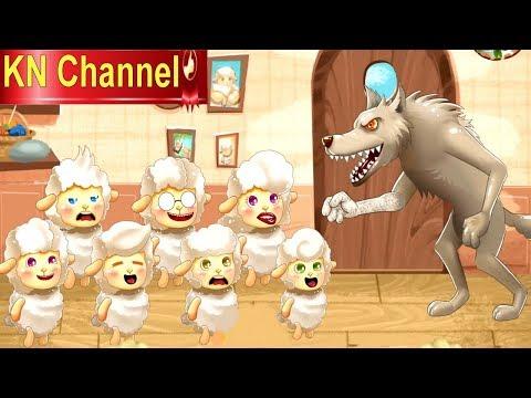 CON CHÓ SÓI VÀ ĐÀN CỪU | TRUYỆN CỔ TÍCH THIẾU NHI | Trò chơi KN Channel | STORY FOR KIDS