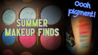NEW Summer Makeup Finds | Highly pigmented!
