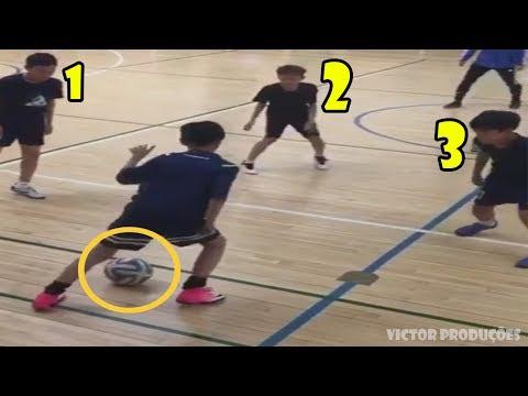 Crianças MITANDO No Futebol ● Melhores Dribles & Gols || HD