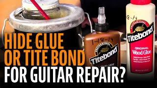 Watch the Trade Secrets Video, Using three different glues: where and why?