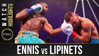 Ennis vs Lipinets HIGHLIGHTS: April 10, 2021 | PBC on SHOWTIME