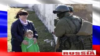 Наконец-то русские солдаты в Крыму