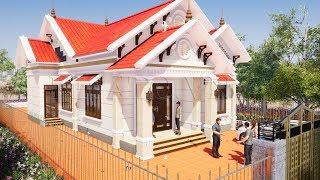 Mẫu Nhà Cấp 4 Đẹp 120m2 Giá 600 Triệu Tại Giao Thủy Nam Định