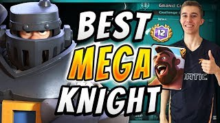 IT'S BACK! MEGA KNIGHT HOG RIDER CYCLE DECK! — Clash Royale