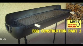 Fabrication barbecue / BBQ Construction (Part.2)