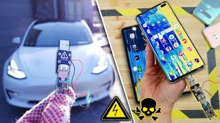 USB Killer vs Tesla Model 3, Galaxy S10, iPad Pro, Mate 20 Pro & More!