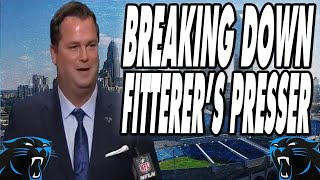 Carolina  Panthers | GM Scott Fitterer Introductory Press Conference REACTION/BREAKDOWN