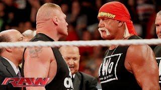 Brock Lesnar crashes Hulk Hogan's birthday celebration: Raw, Aug. 11, 2014