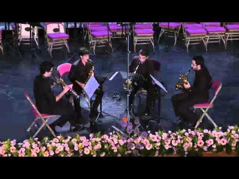 Cuarteto de Saxofones Êgaré Danza nº2 de 'La Vida Breve' de Manuel de Falla