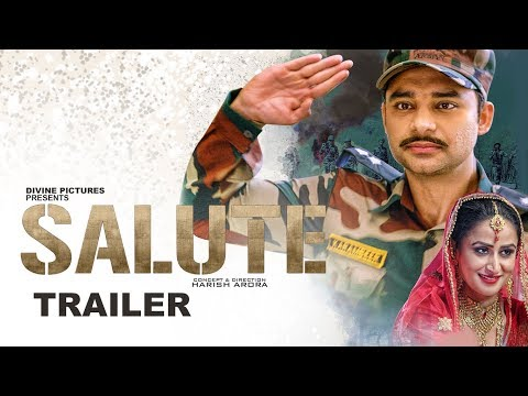 SALUTE (Trailer) Nav Bajwa, Jaspinder Cheema, Sumitra Pednekar
