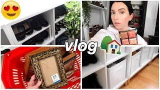 S0 MUCH CLEANING & ORGANIZING, Filming Room Makeover, Thrifting Home Decor - Such good finds!