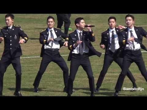 최강창민 170402 서울경찰홍보단 공연 '떴다 오빠'