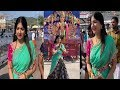 Telugu Actress Poonam Kaur in new look at Tirumala temple
