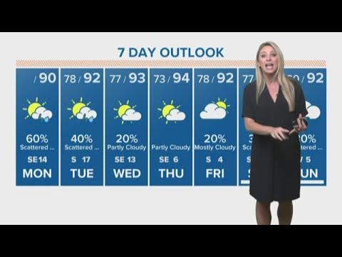 Houston weather update for Monday morning - watch Chita Craft