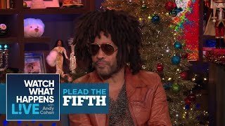 Lenny Kravitz Plays Plead The Fifth! | Plead The Fifth | WWHL