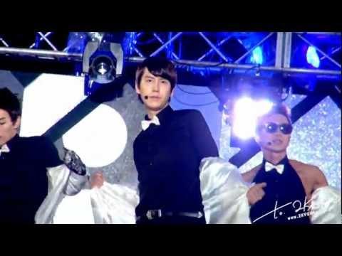 [Fancam HD] 120813 MBC Music Core Recording in Sokcho - 'SPY' - KYUHYUN Focus