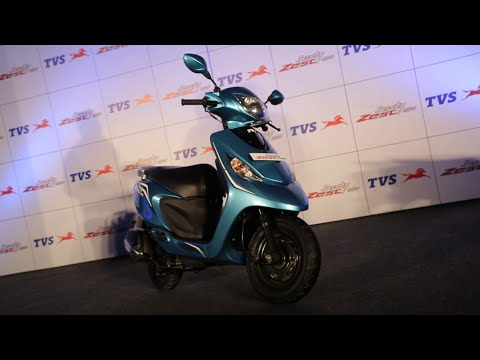 TVS Scooty Zest Launch in India