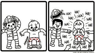 Brutally Hilarious Comics For People With A Dark Sense Of Humour (29 pics) №3