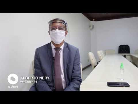 Entrevista com o vereador Alberto Nery