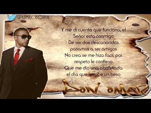De Hombre A Hombre - Don Omar Ft Syko (Letra)