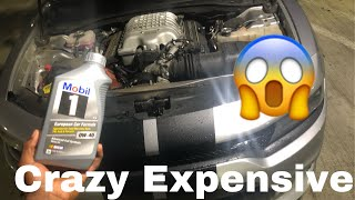 How Expensive Is A Oil Change For A Hellcat??
