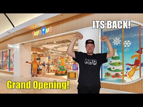 Toys R Us Returns Opening Up New Stores!