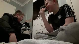 Try not to laugh challenge with callum