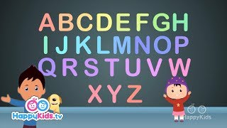 ABC Song Non-Stop   Popular Nursery Rhymes for Kids, Children, And Babies I Happy Kids