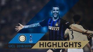 INTER 2-1 TOTTENHAM | HIGHLIGHTS | Matchday 01 - UEFA Champions League  2018/19
