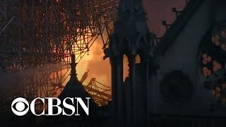 Massive fire engulfs Notre Dame Cathedral in Paris