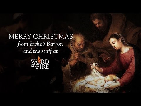 Merry Christmas from Bishop Barron!
