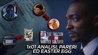 The Falcon and The Winter Soldier 1x01 - ANALISI, EASTER EGG e PARERI - SI COMINCIA!