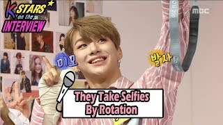[CONTACT INTERVIEW★] All Members Take Selfies By Rotation 20170827