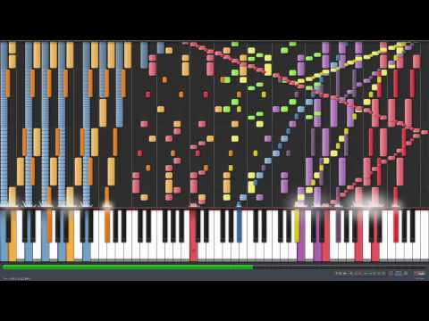 *HD* Piano Tutorial - How to play the hardest song of all time