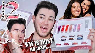 Charli and Dixie D'Amelio collabed with MORPHE?! MORPHE 2 UNBIASED REVIEW!